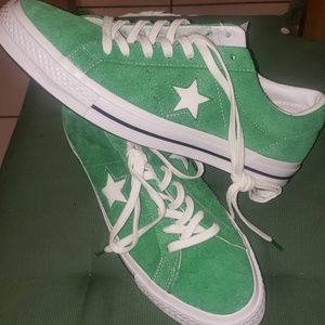 NEW RETRO CONVERSE ALLSTARS CELTIC GREEN
